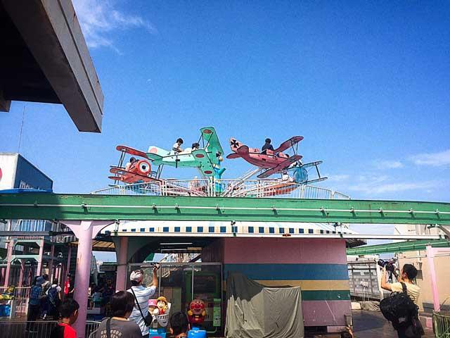 川越丸広(まるひろ)屋上遊園地「わんぱくランド」へお別れの挨拶に行って来ました。